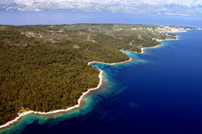 Master plan for St Juraj Bay Resort in Hvar Island
